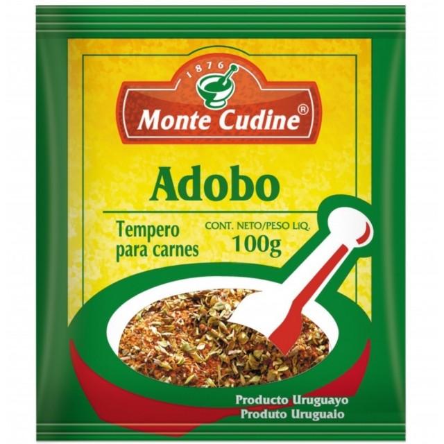 Adobo para Carnes Monte Cudine 100 gramos Origen Uruguay