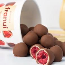 Franui Frambuesas con Receta de la Patagonia Bañadas de Chocolate