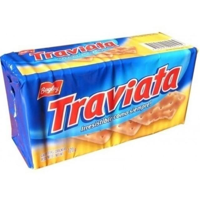 Galletitas Traviata - Estilo Galletitas de Agua Argentinas