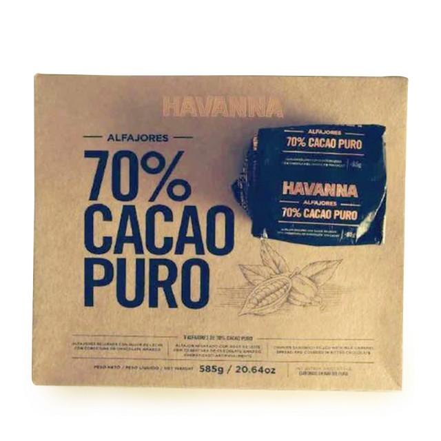 Alfajor Argentino Havanna Cacao 70%