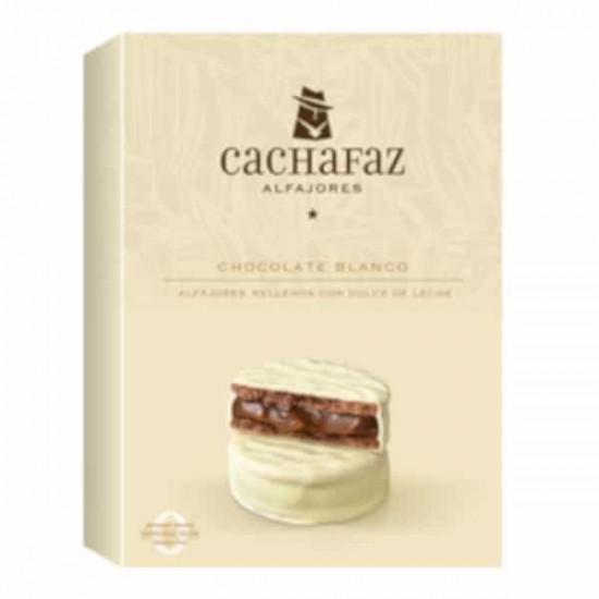 Alfajor Cachafaz Chocolate Blanco x 6 u
