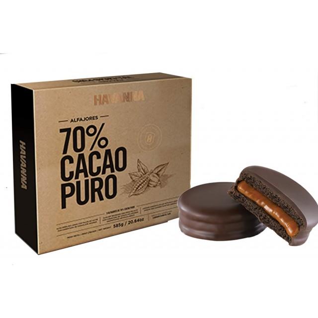 Alfajor Havanna Cacao 70% de Argentina 4 Unidades