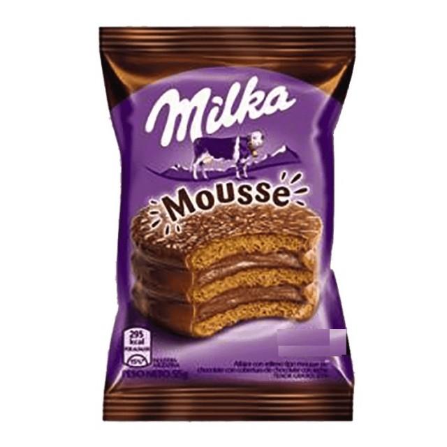 Alfajores Chocolate Triple Milka Unidad