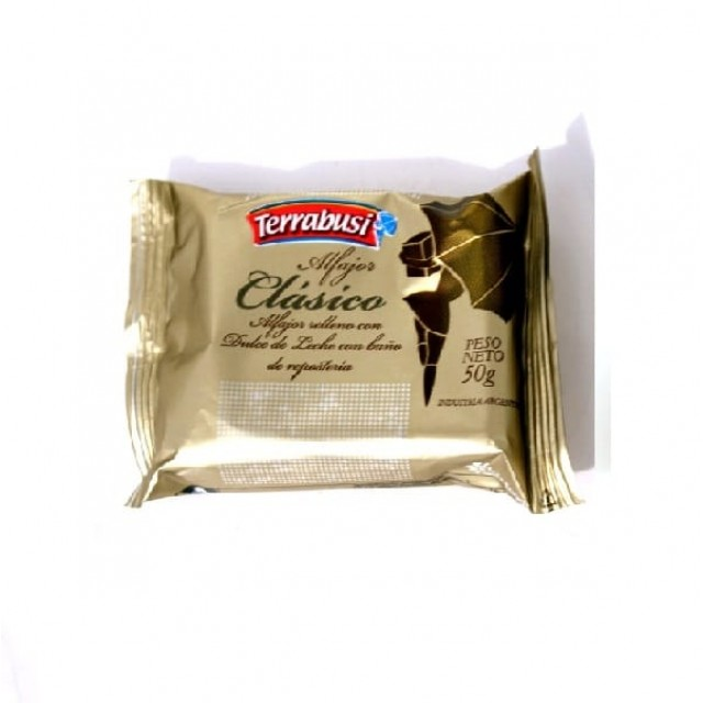 Alfajor Terrabusi de Chocolate Negro