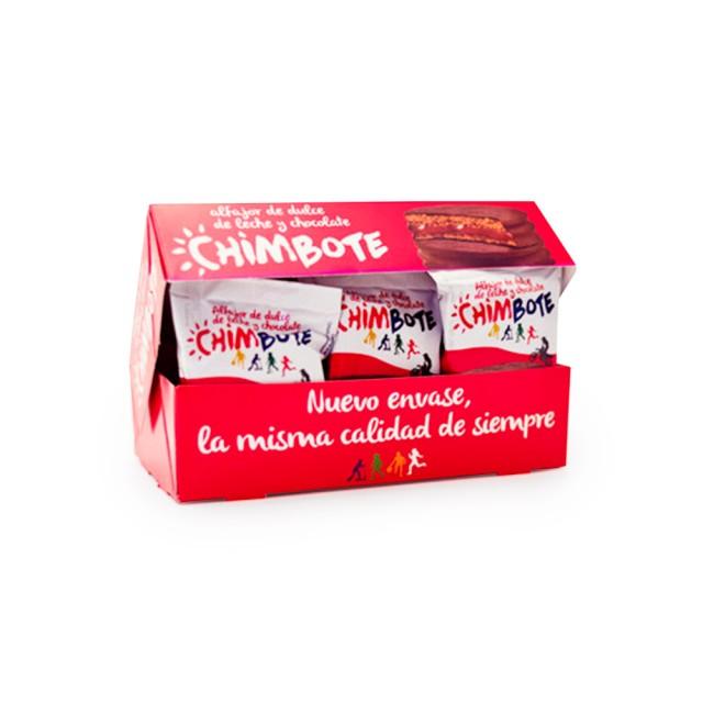 Alfajores Chimbote Chocolate Caja 6 Unidades