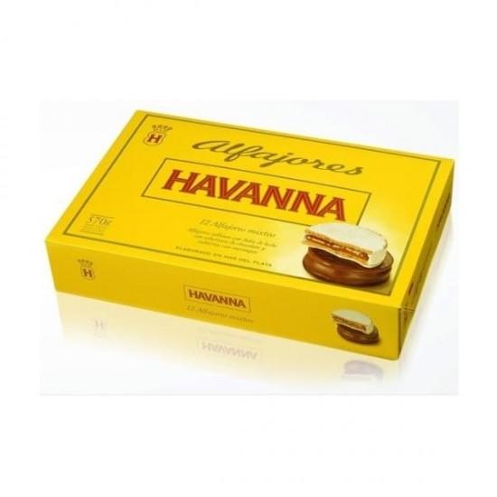 Alfajores Havanna Mixtos Chocolate y Merengue