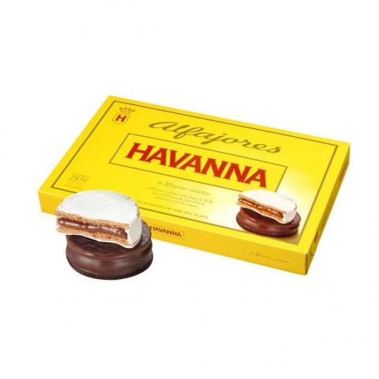 Alfajores Mixtos 6 Unidades Havanna Chocolate y Merengue
