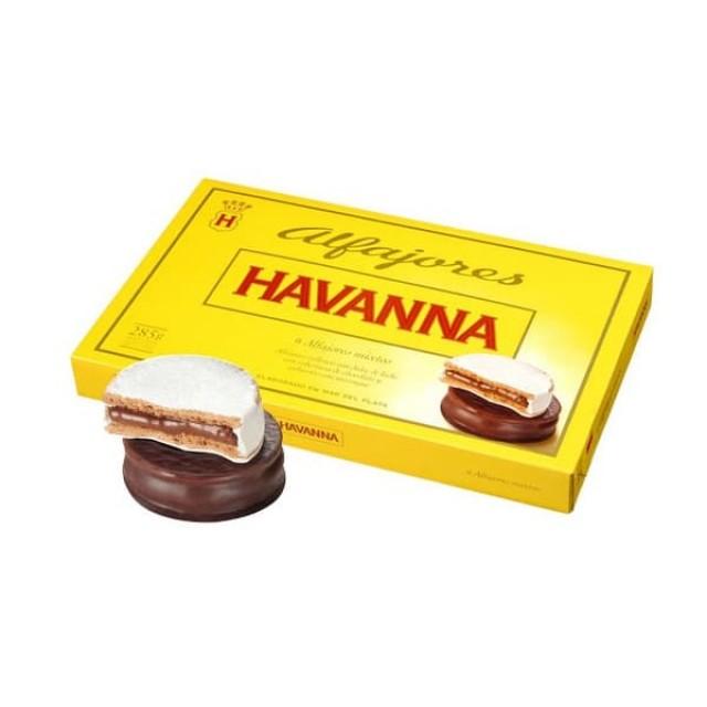 Alfajores Mixtos 6 Unidades Havanna Chocolate y Merengue