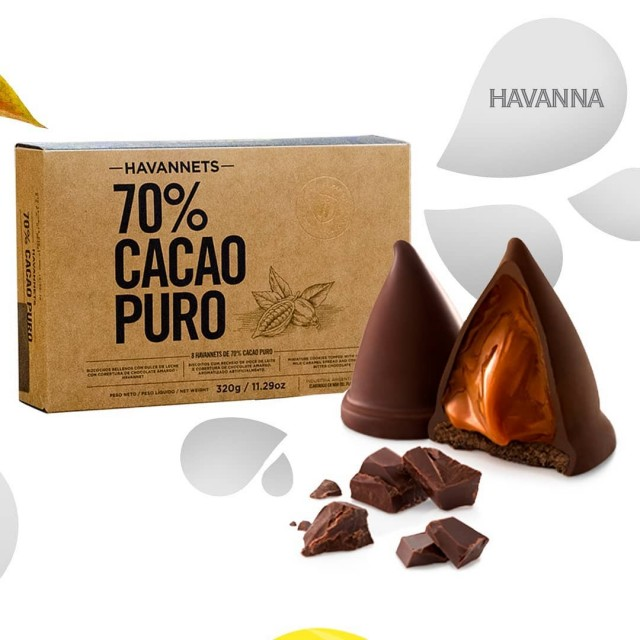Havannets Argentino Havanna Cacao 70%