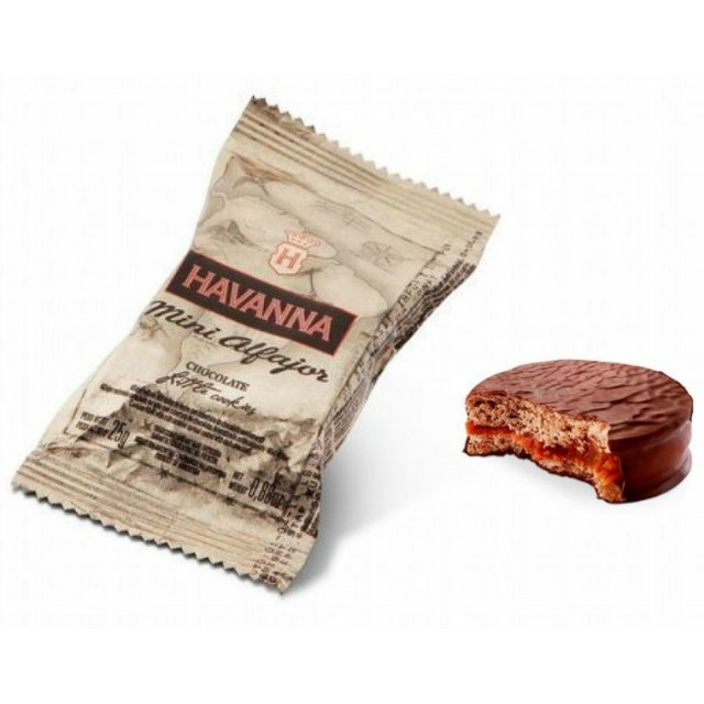 Mini Alfajor Chocolate Havanna Argentino 25 Gramos Unidad