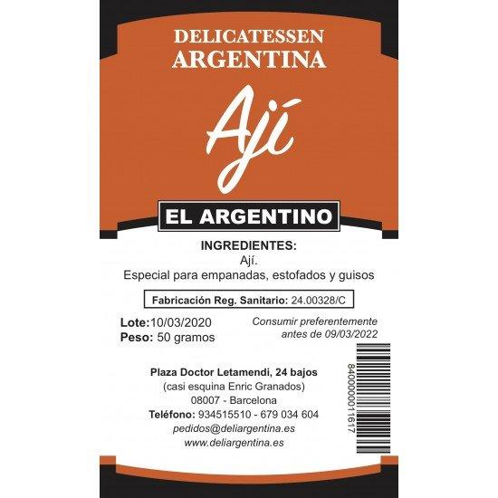 Ají Molido Delicatessen Argentina 50gr