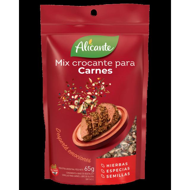 Mix Crocante para Carnes Alicante 65 Gramos Argentina