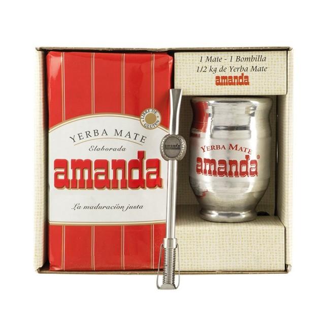 Amanda Kit Mate de Madera forrado de Aluminio