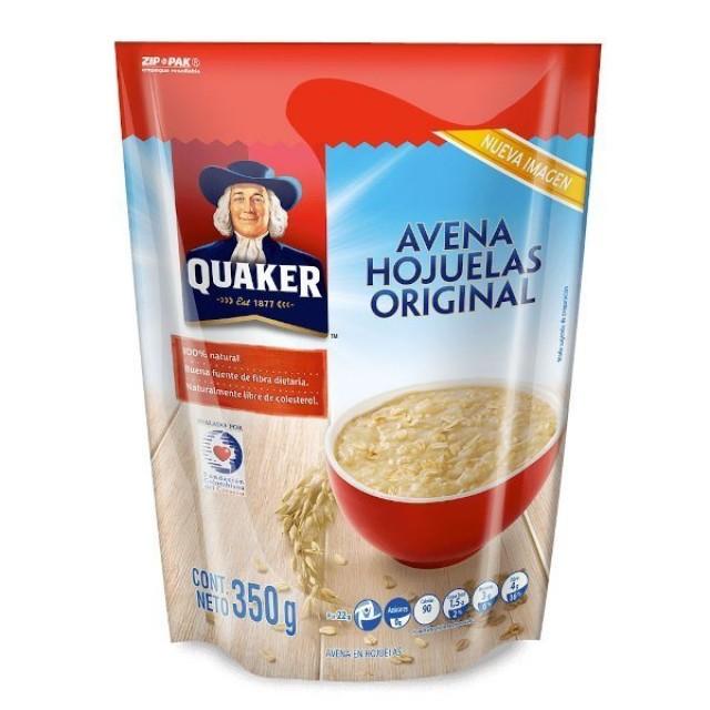 Avena Hojuelas Quaker 350gr