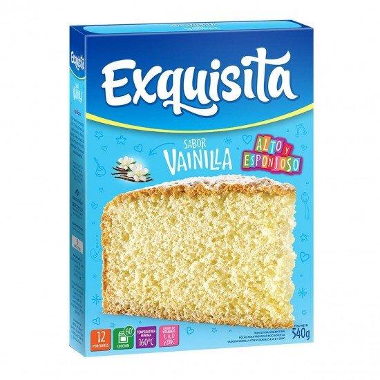 Bizcochuelo Argentino Exquisita Vainilla 540 gramos