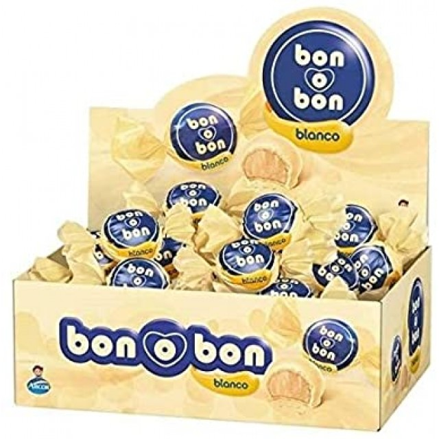 Caja de Bon o Bon Argentino Clásico Chocolate Blanco