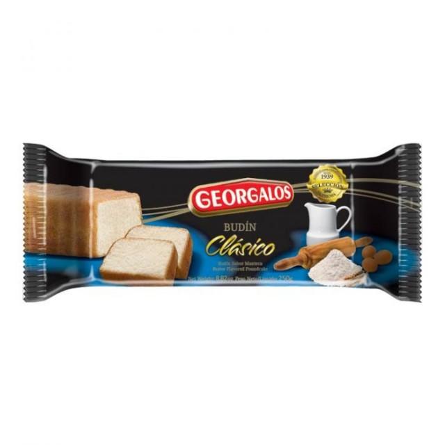 Budín Clásico Georgalos Argentino 250 gramos