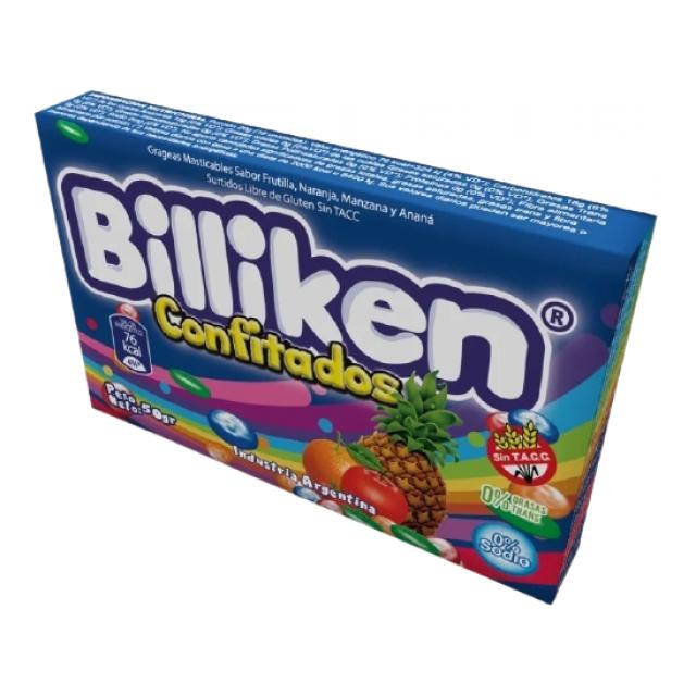 Caramelos Confitados Billiken Frutal 50gr Mismo Sabor Sugus
