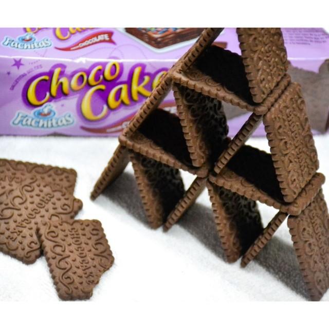 Chococake Galletitas Fachitas de Chocolate como Chocolinas 250 gramos