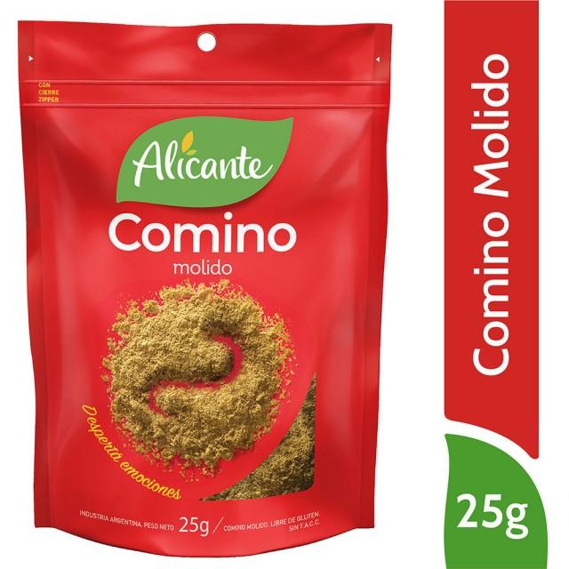 Comino Molido Alicante Condimento Argentino 25 Gramos