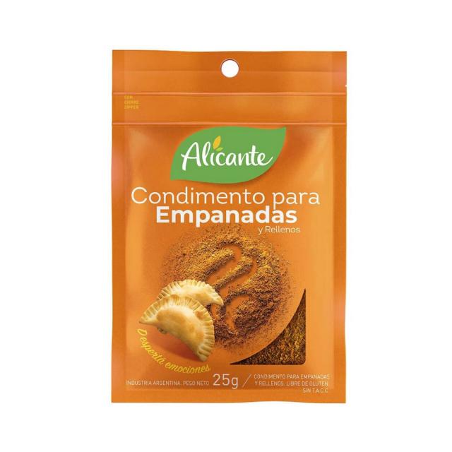 Condimento para Empanadas Alicante Argentino 25 Gr