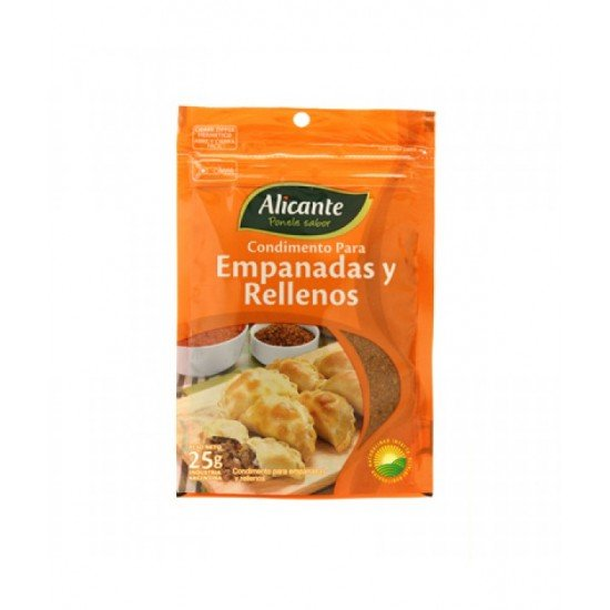 Condimento Argentino Alicante para Empanadas 25 gramos