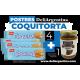 Pack Coquitorta con Coquitas Argentinas y Dulce de Leche DeliArgentina