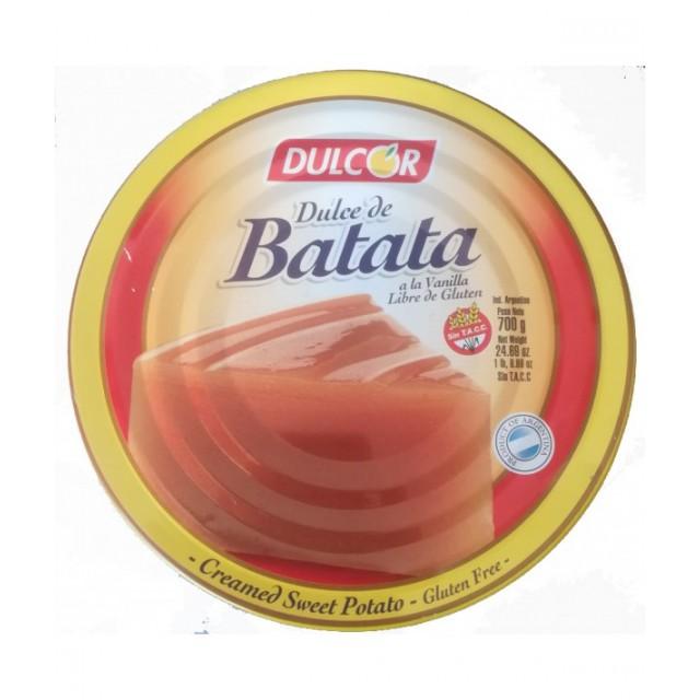 Dulce de Batata Argentino Vainilla Dulcor 700 gramos