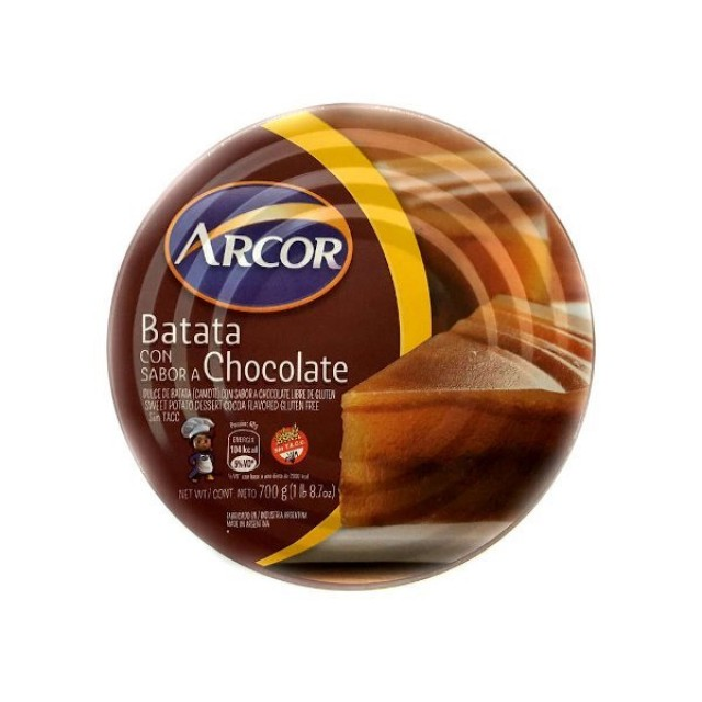 Dulce de Batata con Chocolate Arcor 700gr