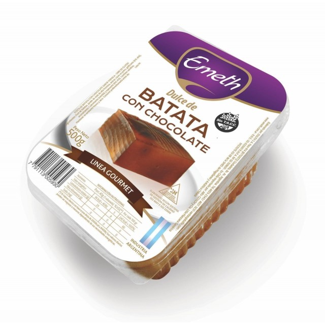 Dulce de Batata con Chocolate Emeth Argentino