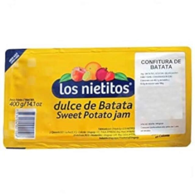 Dulce de Batata Los Nietitos Uruguay