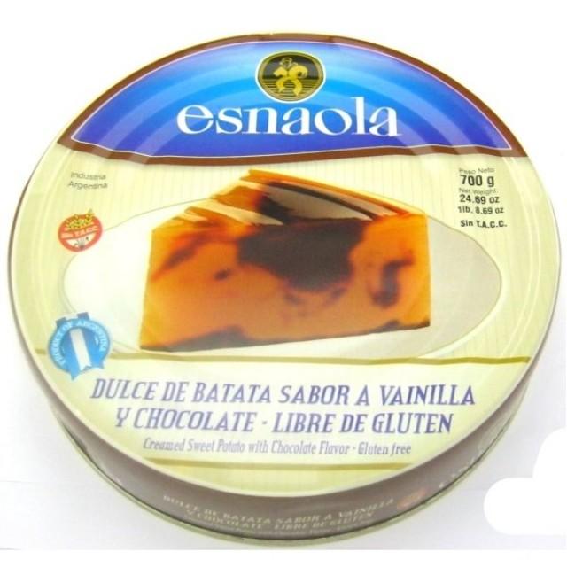 Dulce de Batata y Chocolate Esnaola Argentino