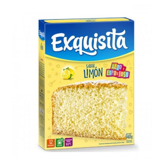 Bizcochuelo Argentino Exquisita Sabor Limón 540 gramos
