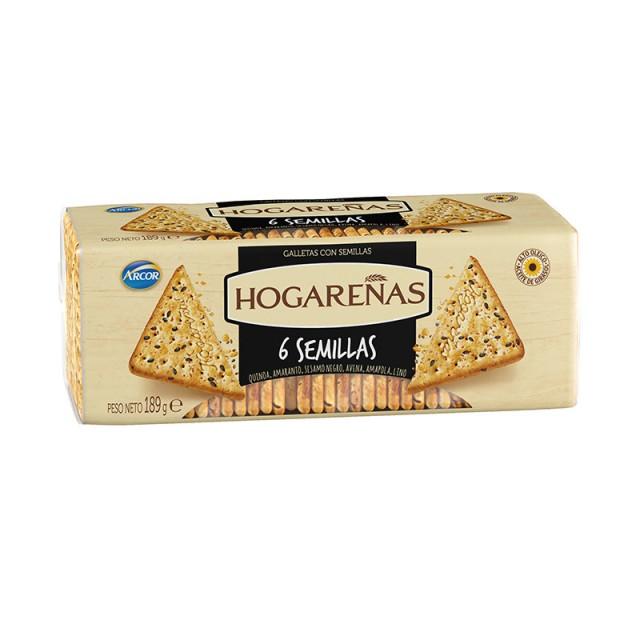 Galletas Hogareñas 6 Semillas Arcor Argentina
