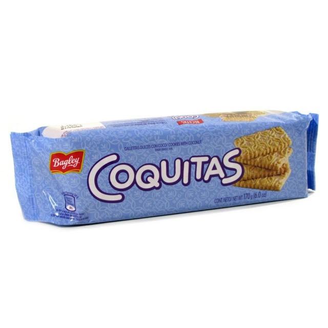 Galletas Coquitas de Bagley Argentina de 170 gramos