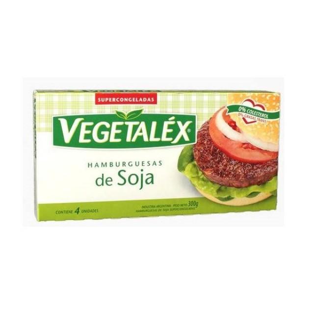 Hamburguesas de Soja Vegetalex