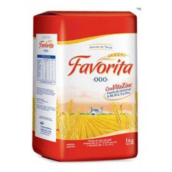 Harina Argentina Favorita 000 1 kilo