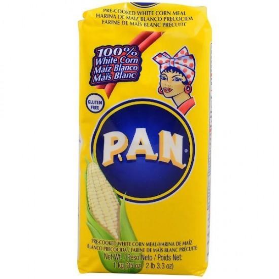 Harina PAN Blanca 1 Kilo