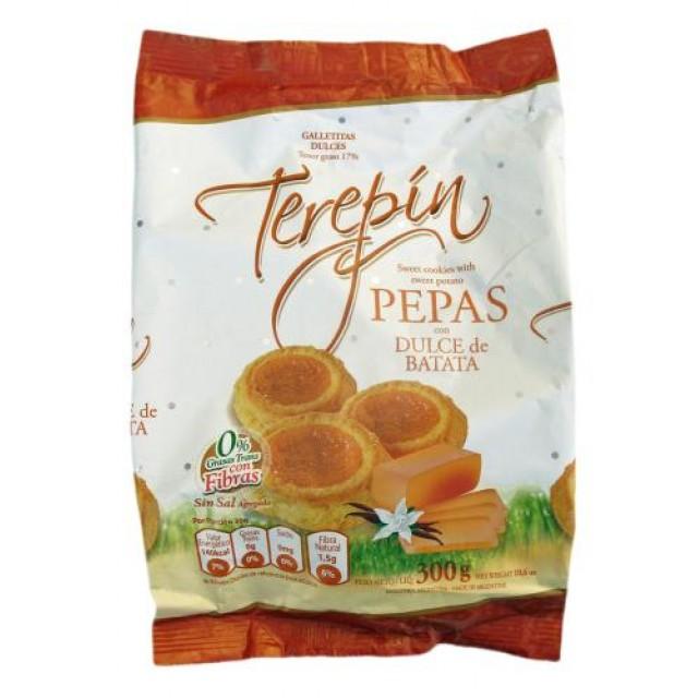 Pepas Terepin con Dulce de Batata