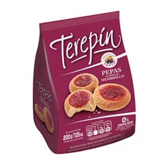 Pepas Terepin con Dulce de Membrillo 200 gramos