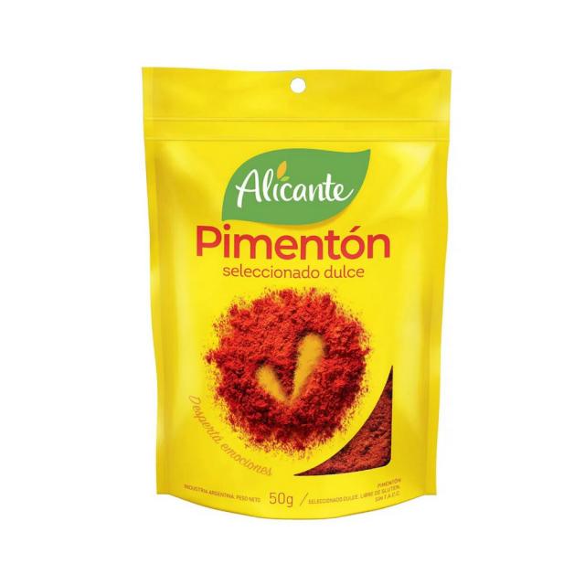Pimentón Alicante Argentino 50 gramos