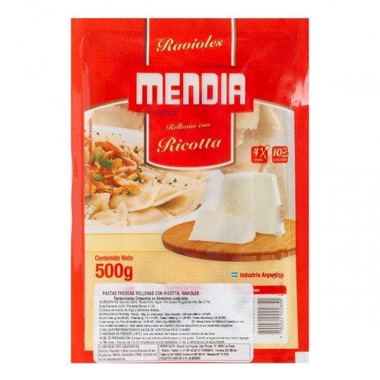 Ravioles Argentinos de Ricota Mendia