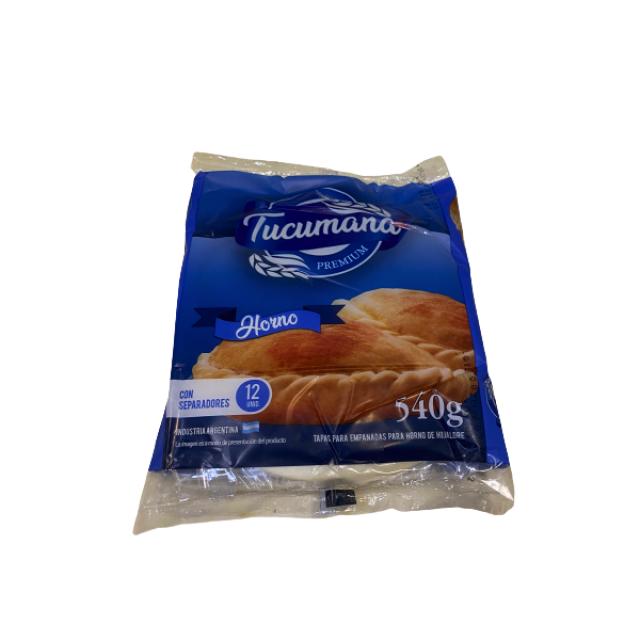 Tapas de Empanadas La Tucumana Horno Grandes 14 cm