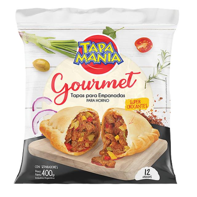 Tapa Empanada Tapamania Gourmet Horno 13 cm 12 unidades