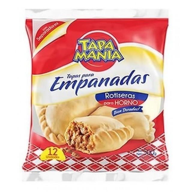 Tapa Para Empanadas Horno Roticeras Tapamania 14 cm 12 unidades