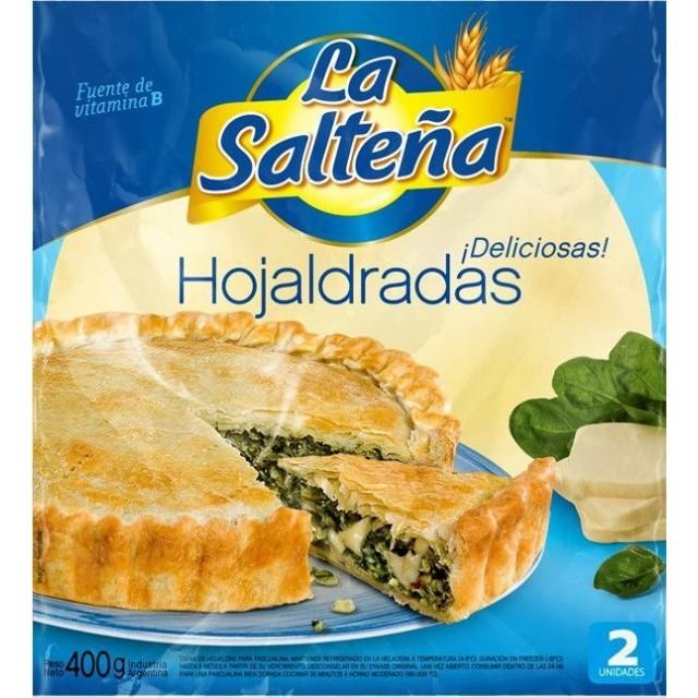 Tapa Pascualina Hojaldrada La Salteña