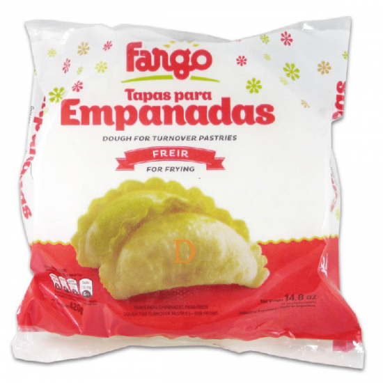 Tapas de Empanadas Fargo Freír Grande Oferta 5 Paquetes