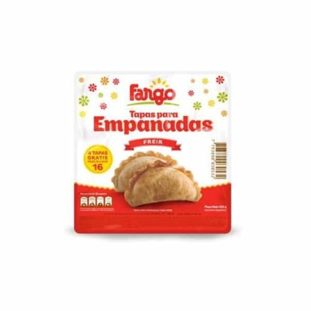 Tapas de Empanadas Fargo Freír Mediana Oferta 5 Paquetes