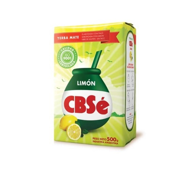 Yerba Mate CBSé Limón