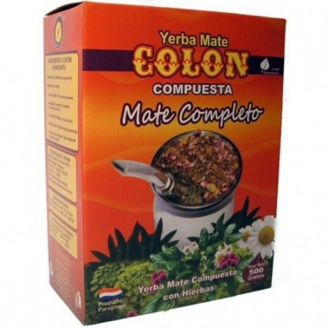 yerba Mate Colón Compuesta 500g Mate Completo